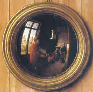 Los espejos convexos en la pintura flamenca i - Pintura para espejos ...
